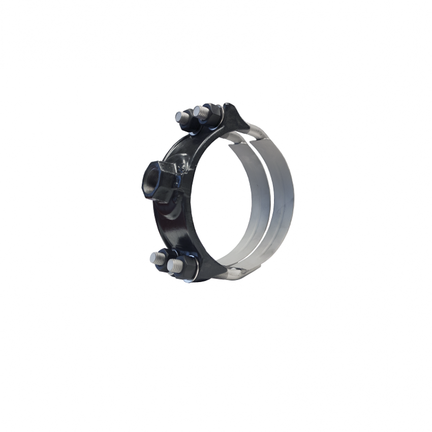 Ductile Iron Saddles With Stainless Steel Straps